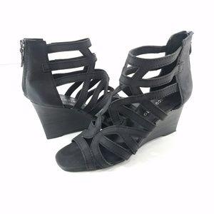 Franco Sarto Hazy Wedge Gladiator Sandals